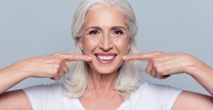 Keep your teeth until you're 100!