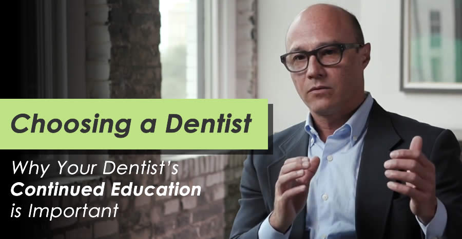 Choosing the Best Dentist: Why Education is Important