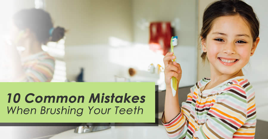 The Top 10 Mistakes People Make When Brushing Their Teeth