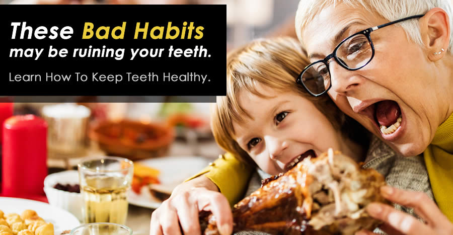 How To Keep Teeth Healthy By Avoiding Bad Habits